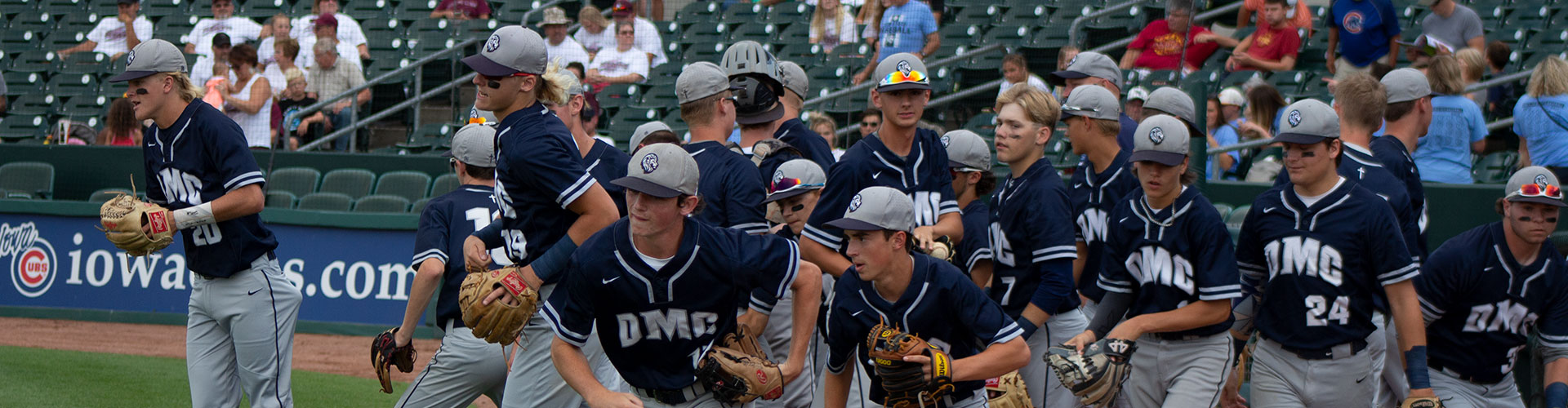 Des Moines Christian School Baseball Players