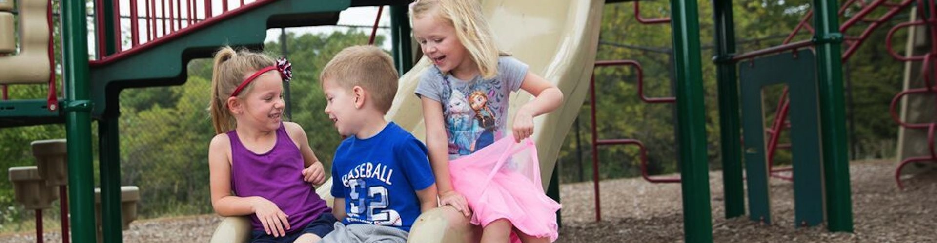 Des Moines Christian School Preschool Students at Recess